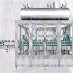 वंगण तेल तेलासाठी रोटरी भरण्याचे मशीन