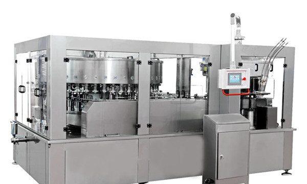 एनर्जी ड्रिंक सॉफ्ट ड्रिंकसाठी अॅल्युमिनियम कॅन फिलिंग मशीन