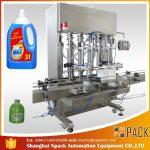 डबल-हेड फुल-ऑटोमॅटिक पिस्टन टाइप लिक्विड फिलिंग मशीन