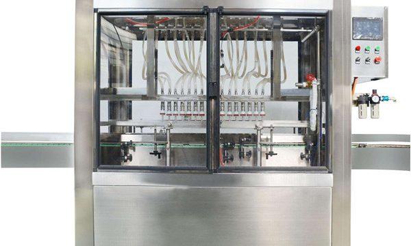 पूर्ण स्वयंचलित 10 प्रमुख कॉस्मेटिक क्रीम जाम फिलिंग मशीन