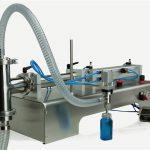 वायवीय नियंत्रण डबल हेड्स ल्यूब ऑइल फिलिंग मशीन