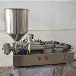 अर्ध स्वयंचलित मॅन्युअल तेल भरणे मशीन कॉस्मेटिक