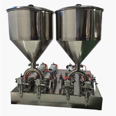 टिकाऊ सेमी-ऑटो क्रीम भरणे मशीन