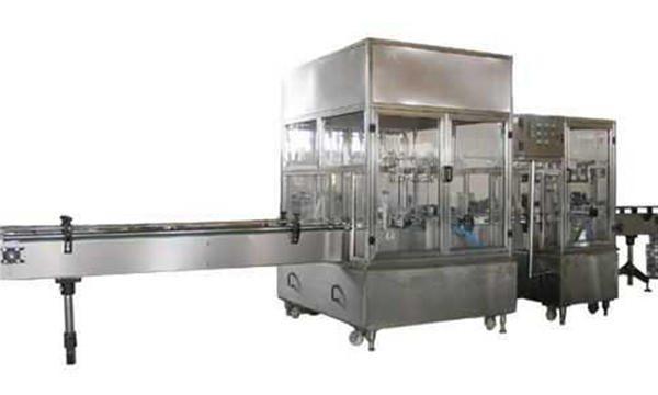 पूर्णपणे स्वयंचलित द्रव साबण भरणे मशीन लाइन