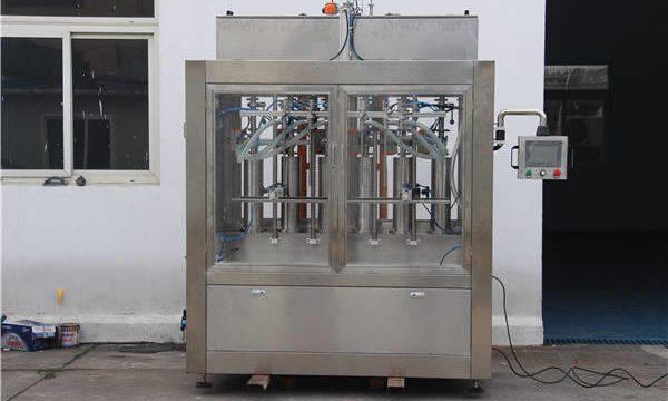 स्वयंचलित जाम बाटली भरणे मशीन