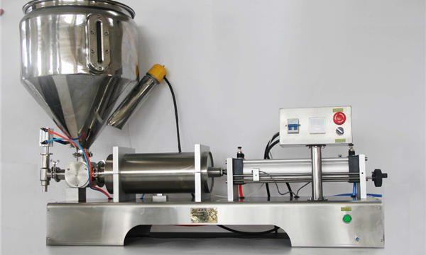 सीई जीएमपीसह उच्च-अचूकता अर्ध-स्वयंचलित मिश्रित फळ जाम फिलिंग मशीन