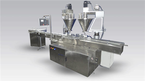 6-हेड फुल-ऑटोमॅटिक कॉफी फिलिंग अप मशीन पावडर