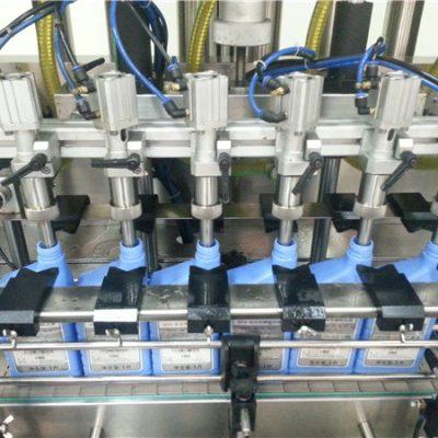 6-डोके स्वयंचलित इंजिन तेल भरणे मशीन