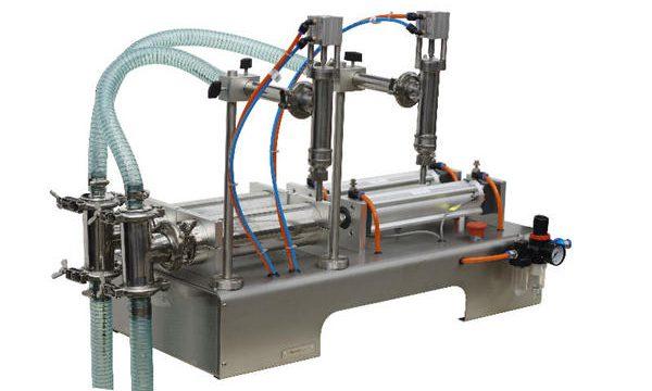 अर्ध-स्वयंचलित Sachet लिक्विड साबण भरणे मशीन