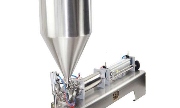 मलई शैम्पू कॉस्मेटिक टूथ पेस्टसाठी 50-500 मिलीलीटर पेस्ट आणि लिक्विड फिलिंग मशीन