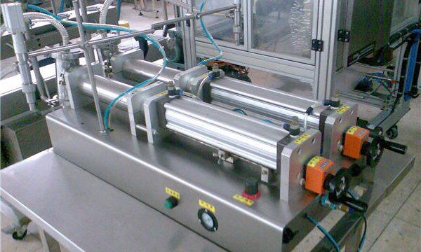 दर्जेदार डबल नोजल लिक्विड शैम्पू फिलिंग मशीन