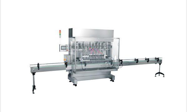 4 हेड्स स्वयंचलित लिक्विड साबण डिटर्जंट कॉस्मेटिक फिलिंग मशीन