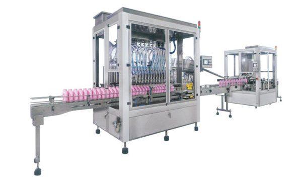 पूर्ण स्वयंचलित द्रव साबण डिटर्जंट शैम्पू भरणे मशीन