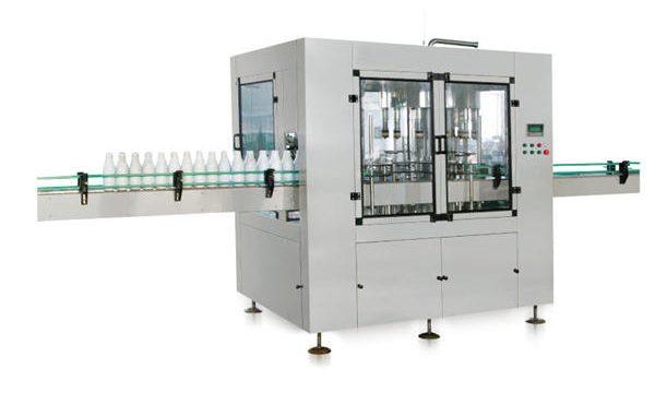आठ-डोके स्वयंचलित रेषात्मक पिस्टन लिक्विड साबण भरणे मशीन