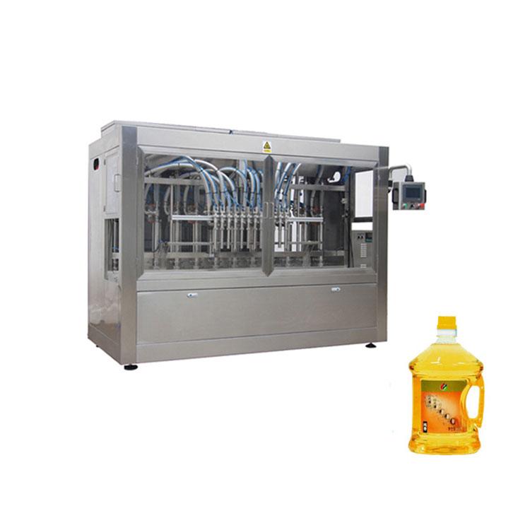 8000BPH स्वयंचलित नारळ तेल भरणे मशीन लाइन