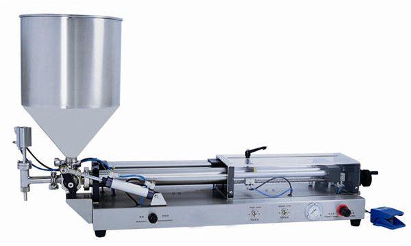 अर्ध-स्वयंचलित पेस्ट फिलिंग मशीन 3 एमएल -5 एल