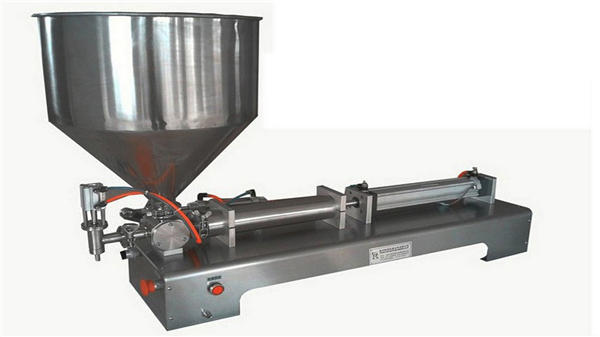 सिंगल हेड सेमी ऑटोमॅटिक वर्टिकल पेस्ट फिलिंग मशीन