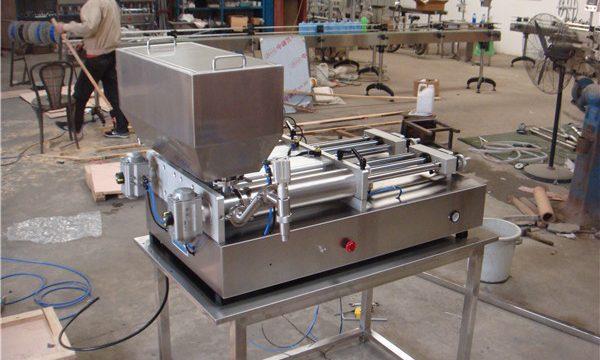 स्वस्त न्यूमॅटिक सेमी-ऑटोमॅटिक जाम फिलिंग मशीन